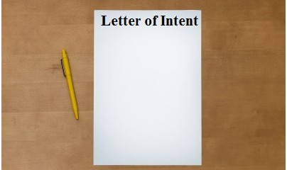 Letter of Intent - LOI