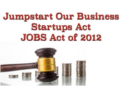 JOBS - Jumpstart Our Business Startups